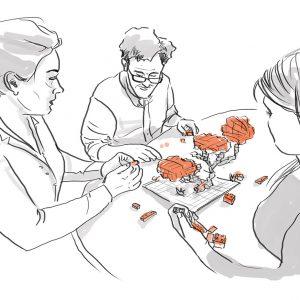 Formación en gamificación con LEGO® Serious Play®en Barcelona y Viena, Castellano, Inglés, Alemán