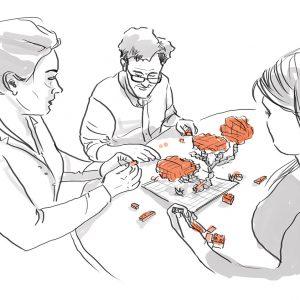 Gamifikation mit LEGO® Serious Play® Training in Wien & Barcelona, Deutsch, Englisch, Spanisch