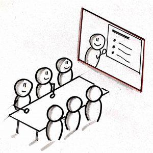 Reuniones interactivas en remoto